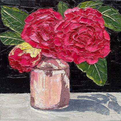 """Hand Picked Camellia Posie"""