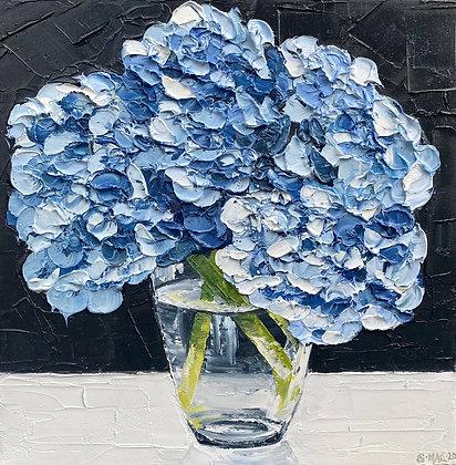 Blue Hydrangea Posie