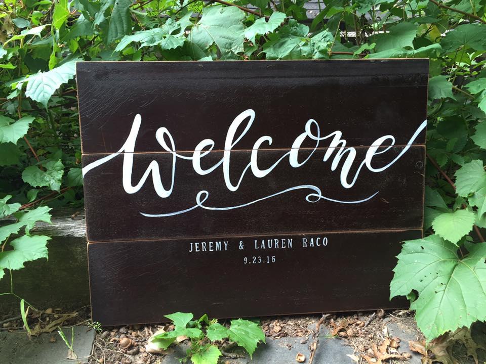 Handmade Sign & Handlettering
