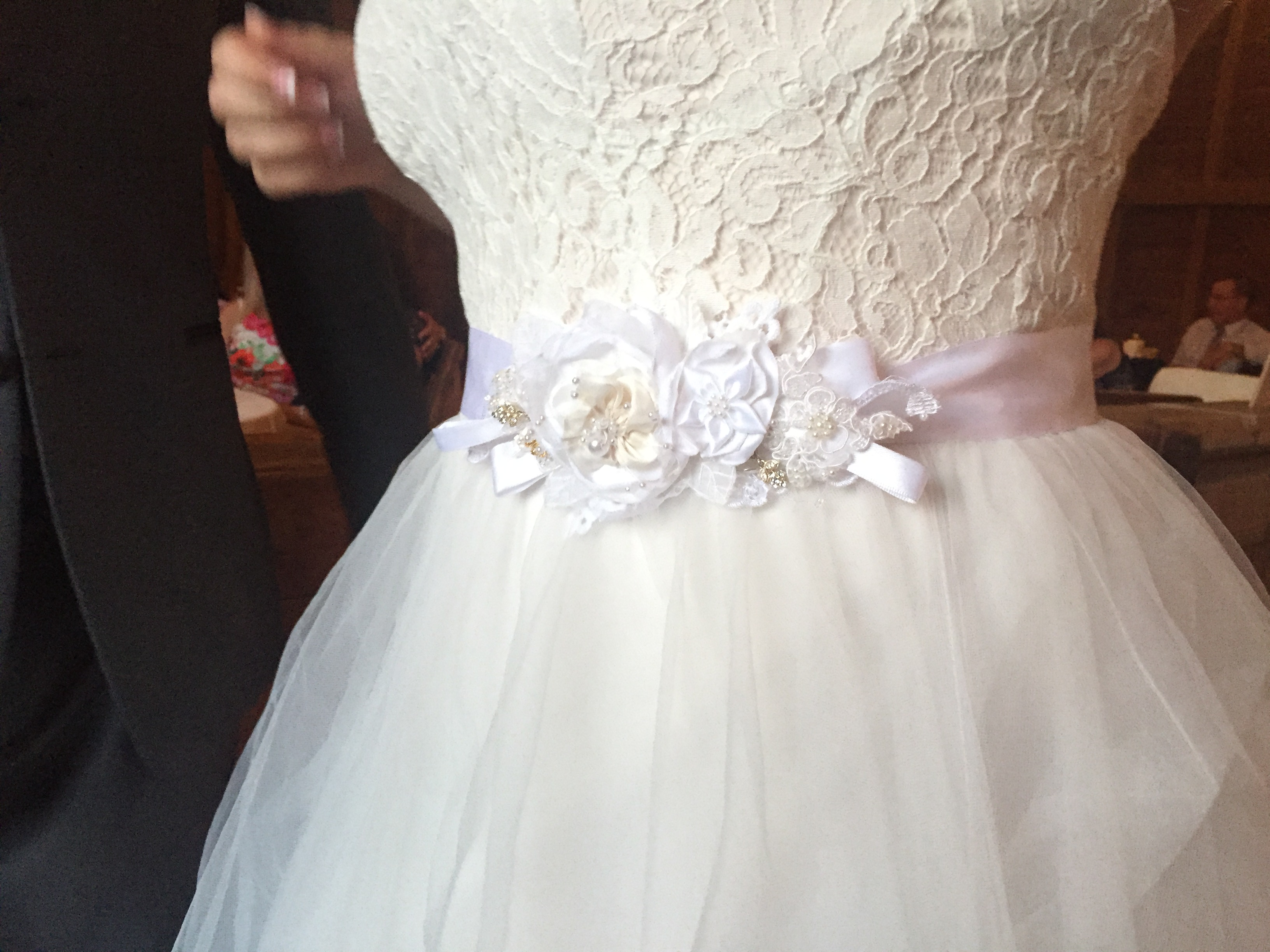 Handmade Bridal Sash