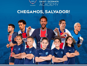 Academia do PSG é a nova atração para garotada de Salvador
