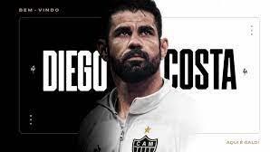 Diego Costa é apresentado oficialmente como novo reforço do Atlético – MG