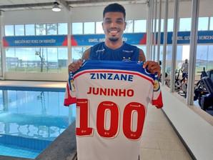 O Bahia anuncia a venda do zagueiro Juninho para o FC Midtjylland