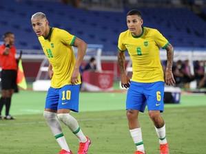 Com hat-trick de Richarlison, Brasil estreia com goleada nas Olimpíadas de Tóquio