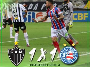Bahia arranca empate contra o Atlético Mineiro fora de casa
