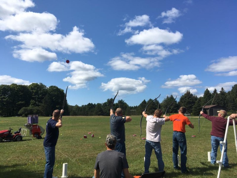Aerial archery