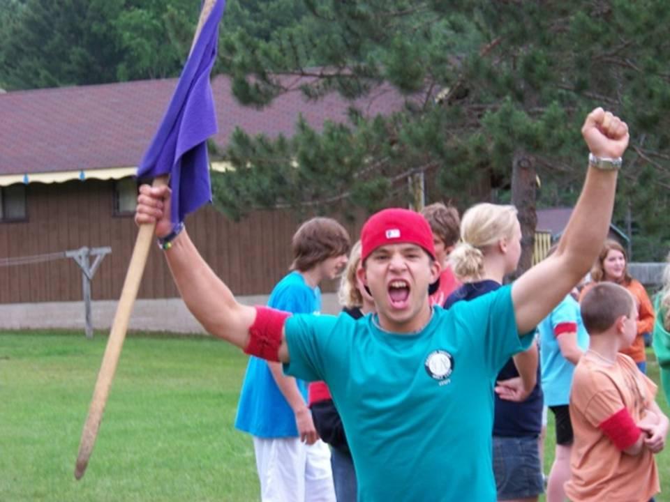 Camp excitement
