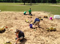 Sand pit