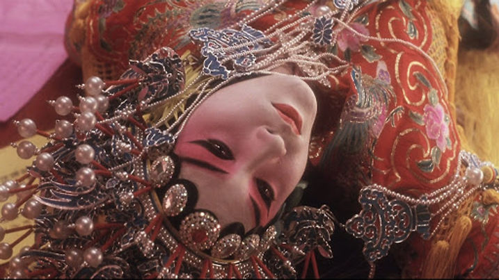 """Leslie Cheung in 1993's """"Farewell, My Concubine."""""""