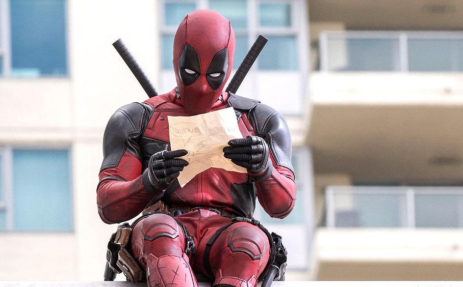 """Ryan Reynolds in 2016's """"Deadpool."""""""