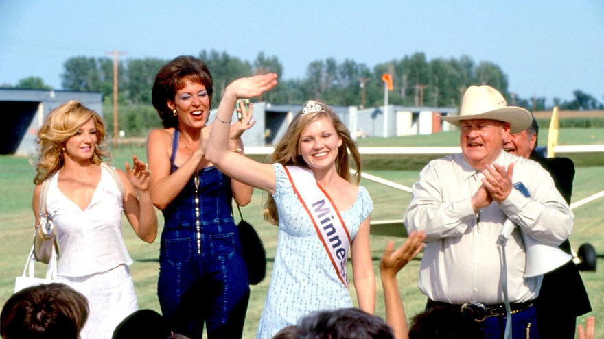 "Ellen Barkin, Allison Janney, and Kirsten Dunst in 1999's ""Drop Dead Gorgeous."""
