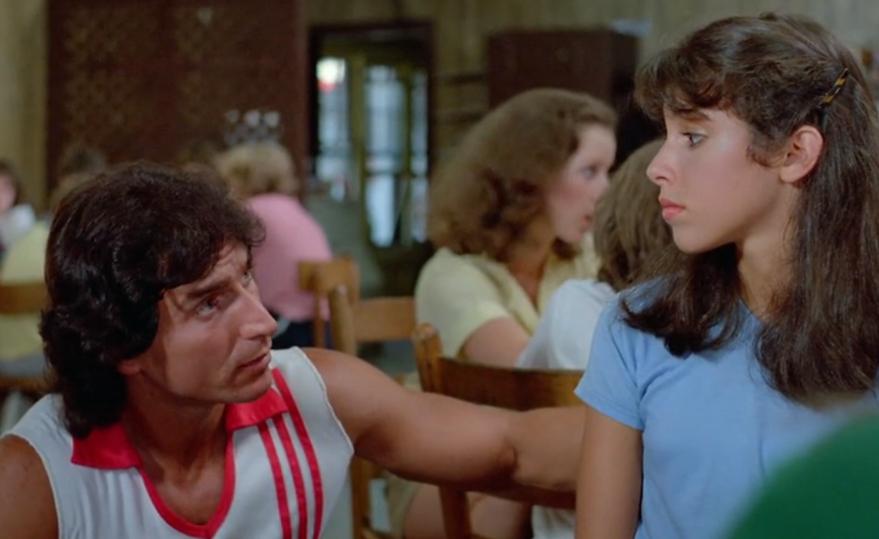 "Movie still from 1983's ""Sleepaway Camp."""