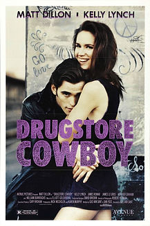 """Movie poster for 1989's """"Drugstore Cowboy."""""""