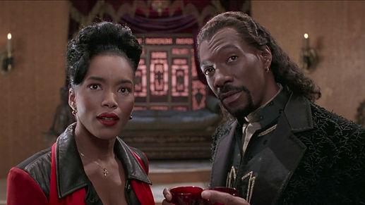 "Angela Bassett and Eddie Murphy in 1995's ""Vampire in Brooklyn."""