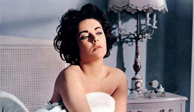 """Elizabeth Taylor in 1960's """"Butterfield 8."""""""
