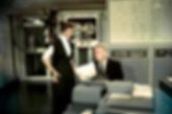 """Movie still from 1957's """"Desk Set""""."""