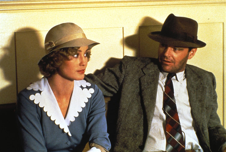 """Jessica Lange and Jack Nicholson in 1981's """"The Postman Always Rings Twice."""""""