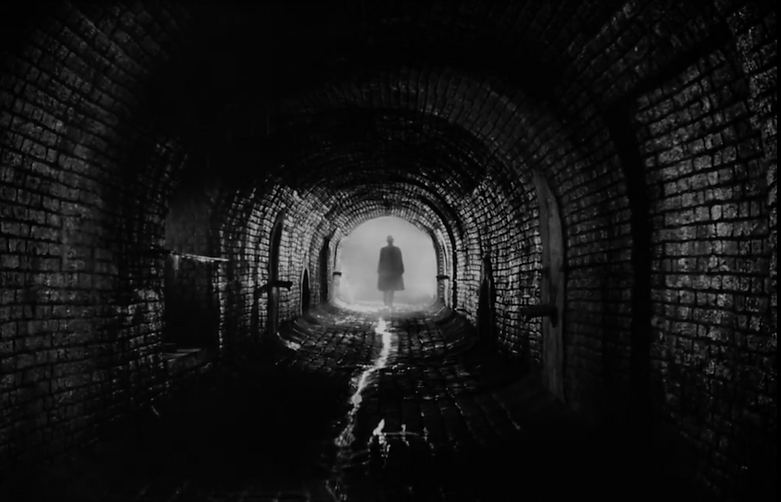 "Still from 1949's ""The Third Man."""
