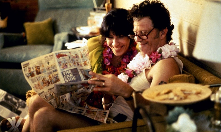 "Lily Tomlin and Tom Waits in 1993's ""Short Cuts."""