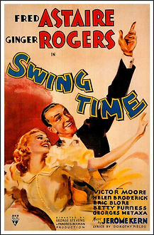 """Movie poster for 1936's """"Swing Time."""""""