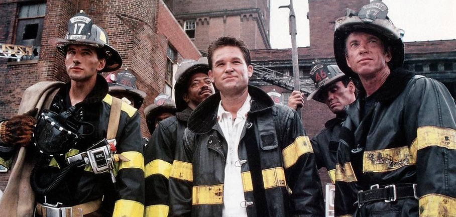 "Movie still from 1991's ""Backdraft."""
