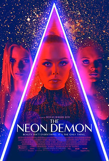 "Movie poster for 2016's ""The Neon Demon."""