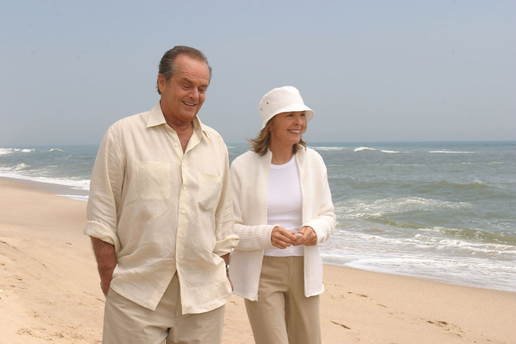 """Jack Nicholson and Diane Keaton in 2003's """"Something's Gotta Give."""""""