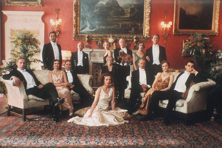 """Promotional photograph for 2001's """"Gosford Park."""""""