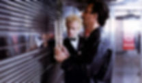 "Christopher Lambert and Jean Reno in 1985's ""Subway."""