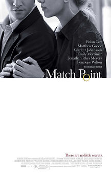 """Movie poster for 2005's """"Match Point."""""""