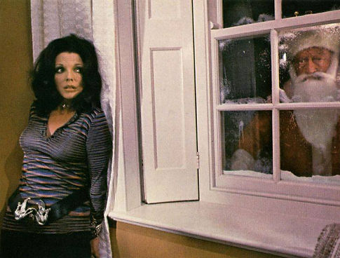 """Joan Collins and a friend in 1972's """"Tales from the Crypt."""""""