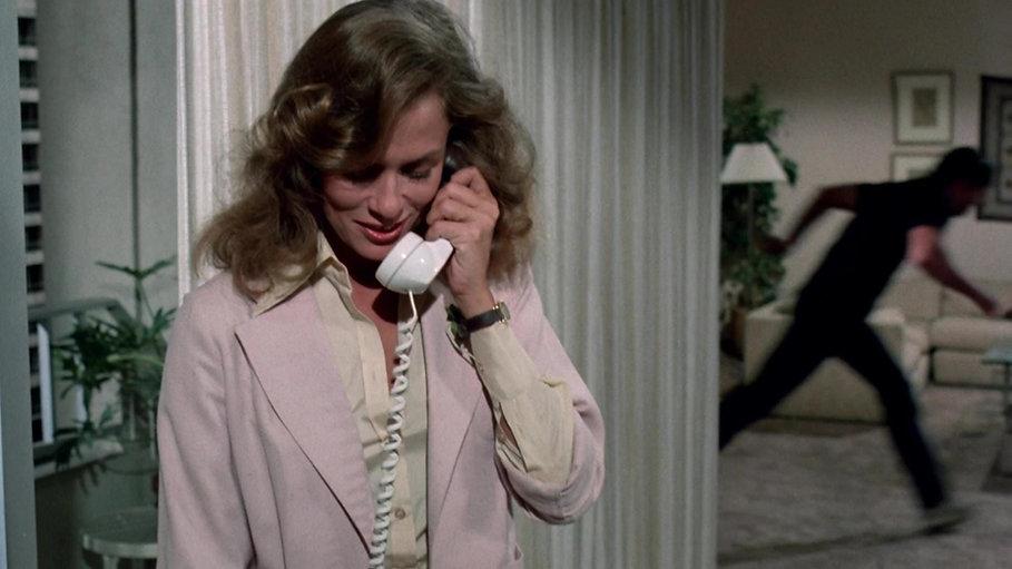 "Lauren Hutton in 1978's ""Someone's Watching Me!."""