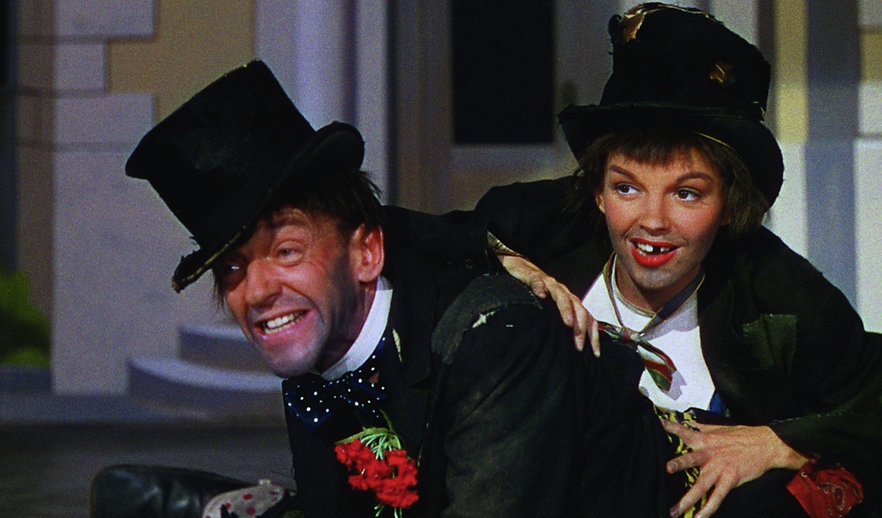 """Judy Garland and Fred Astaire in 1948's """"Easter Parade."""""""