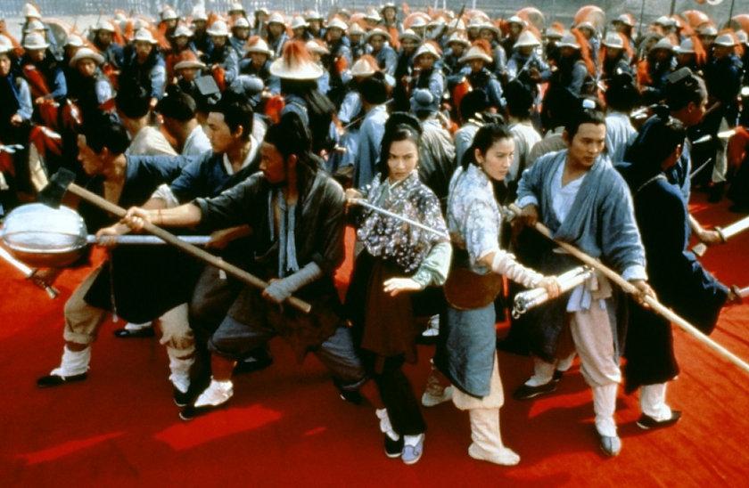 "Still from 1993's ""Tai Chi Master."""