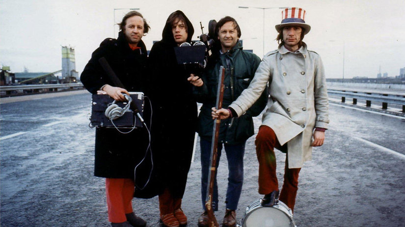 """The Rolling Stones in 1970's """"Gimme Shelter."""""""
