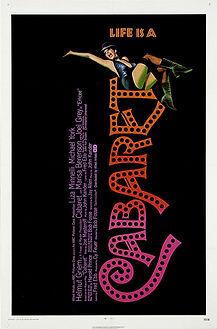 "Movie poster for 1972's ""Cabaret."""