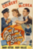 """Movie poster for 1942's """"The Palm Beach Story."""""""