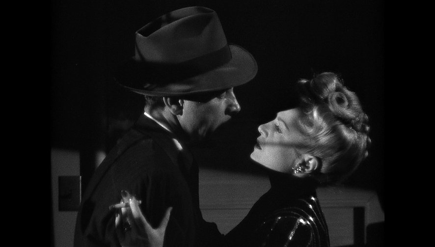 "Still from 1944's ""Murder, My Sweet."""