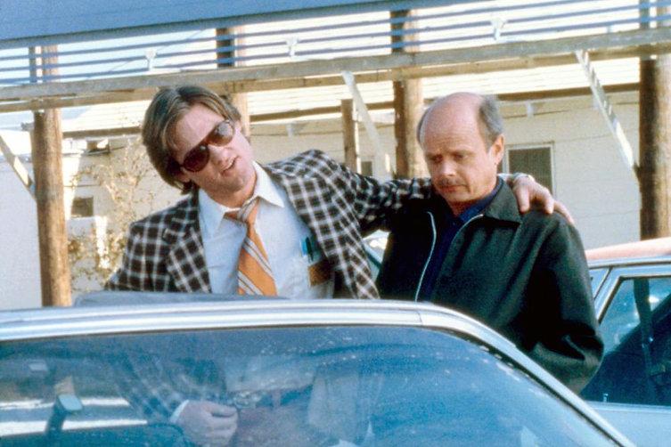 "Movie still from 1980's ""Used Cars."""