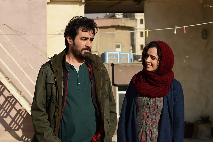 "Movie still from 2016's ""The Salesman."""