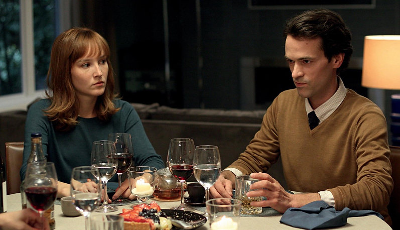 """Romain Duris and Anaïs Demoustier in 2014's """"The New Girlfriend."""""""
