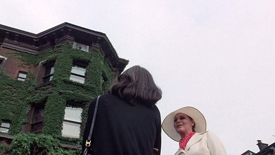"Cristina Raines and Ava Gardner in 1977's ""The Sentinel."""