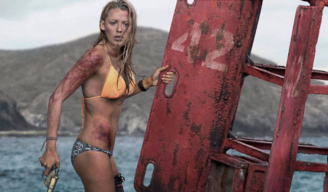 """Blake Lively in 2016's """"The Shallows."""""""