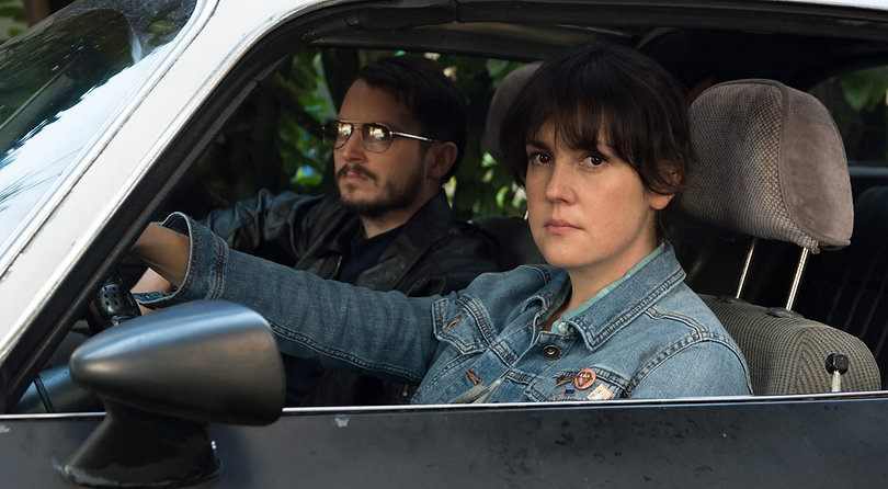 """Movie still from 2017's """"I Don't Feel at Home in This World Anymore."""""""