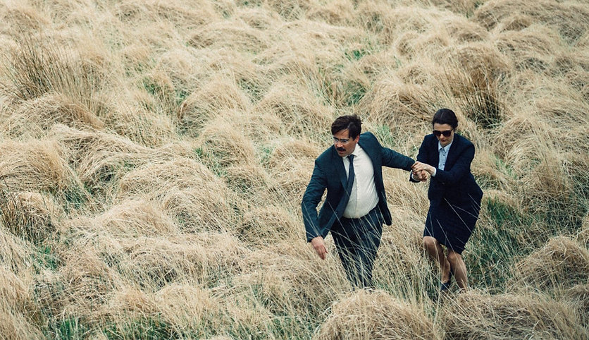 "Colin Farrell and Rachel Weisz in 2016's ""The Lobster."""