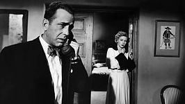 """Still from 1950's """"In a Lonely Place."""""""