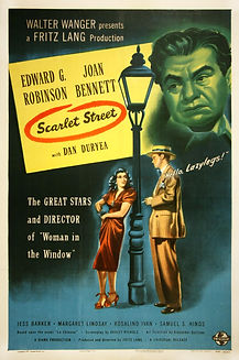 """Movie poster for 1945's """"Scarlet Street."""""""