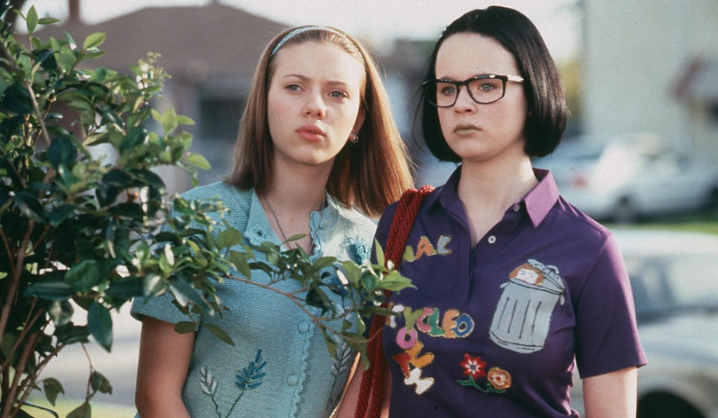 "Scarlett Johansson and Thora Birch in 2001's ""Ghost World."""
