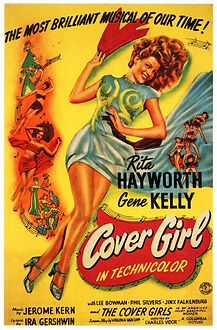 """Movie poster for 1944's """"Cover Girl."""""""