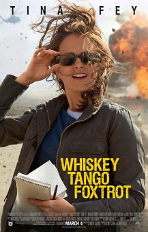 """Movie poster for 2016's """"Whiskey Tango Foxtrot."""""""